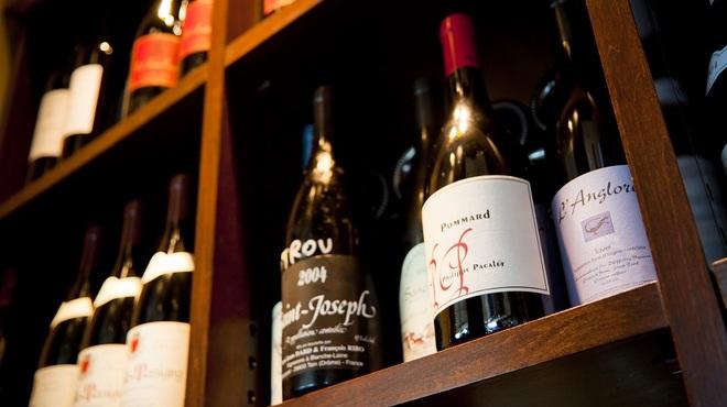 ブラッスリーオザミ - その他写真:自然派ワイン&グランヴァン多数ご用意ございます!