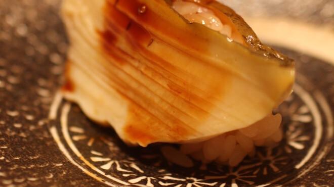 鮨よしたけ - 料理写真:佐賀県唐津産 黒鮑