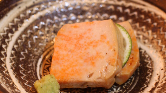 鮨よしたけ - 料理写真:あん肝の赤酒煮