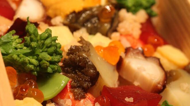 鮨よしたけ - 料理写真:お土産 バラちらし
