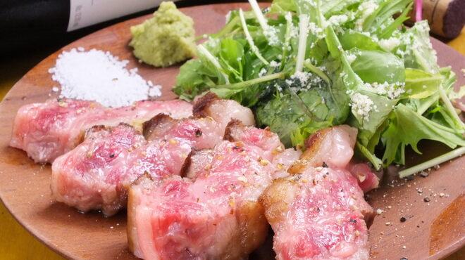 大衆ビストロ ぐりぐり - 料理写真:国産牛ゲタカルビステーキ
