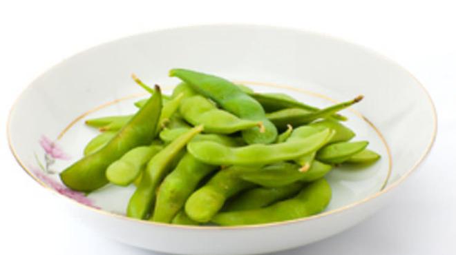 桜坂 - 料理写真:基本のジャブ枝豆♪