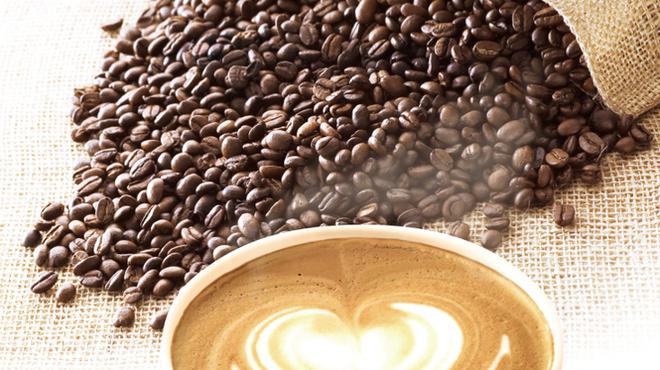 アロハビーチカフェ - ドリンク写真:カフェラテ