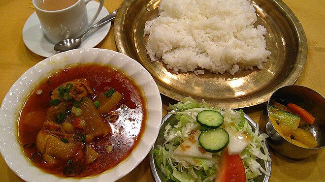 花菜 - 料理写真:ネパーリバート