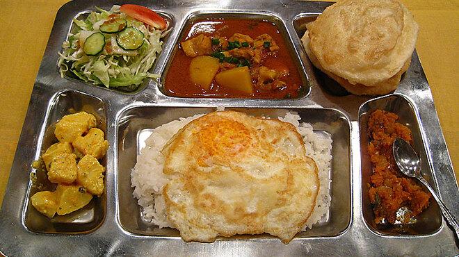 花菜 - 料理写真:ネパールタリー