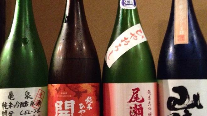 鶫 - 料理写真:季節の日本酒揃ってます