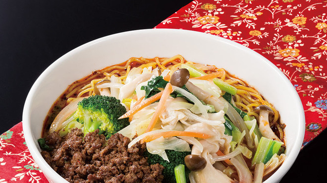 過門香 - 料理写真:たっぷり野菜坦々麺