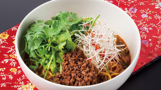 過門香 - 料理写真:たっぷり香菜坦々麺