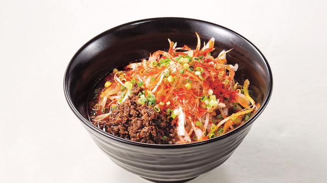 過門香 - 料理写真:たっぷり葱坦々麺