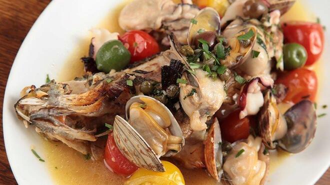 COVO - 料理写真:鮮魚獲れたて♪牡蠣屋のアクアパッツァ