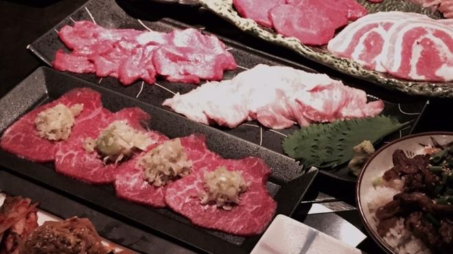 焼肉問屋 横浜醍醐 - 料理写真:満喫コース