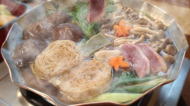 京都 権太呂 - 料理写真:鴨すき