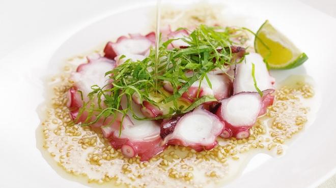 満福市場 サクラ - 料理写真:タコのカルパッチョ