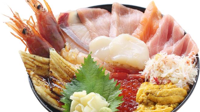 築地 虎杖 - 料理写真:築地丼 松