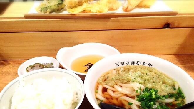 天ぷら天草水産研究所 - 料理写真: