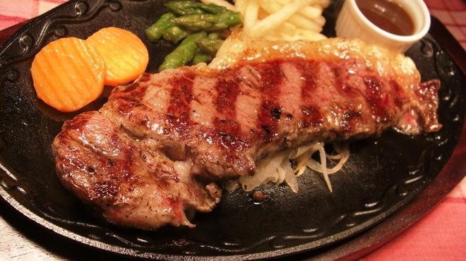ブッチャーズ☆グリル - 料理写真:ステーキの王道、もっともステーキに適した部位で、脂身の美味しさを堪能できるステーキです!