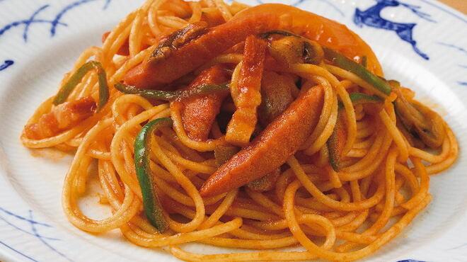 銀座洋食 三笠會館 - 料理写真:懐かしの味 ナポリタン