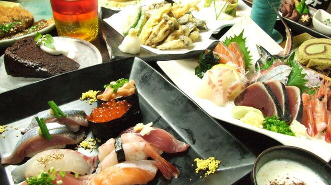 馬鹿とけむり - 料理写真:色とりどりの食材をお愉しみ下さい!