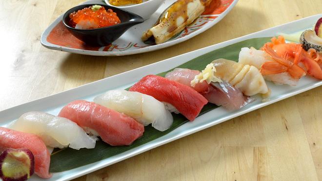 築地虎杖 魚河岸千両 - 料理写真:寿司 旬の楽しみ 3,900円