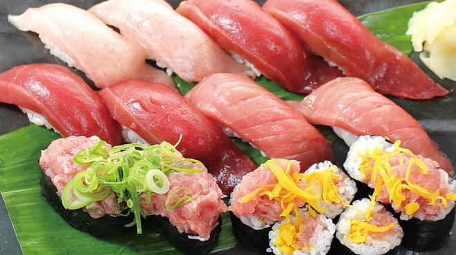 築地虎杖 魚河岸千両 - 料理写真:極まぐろ握り寿司 3,140円
