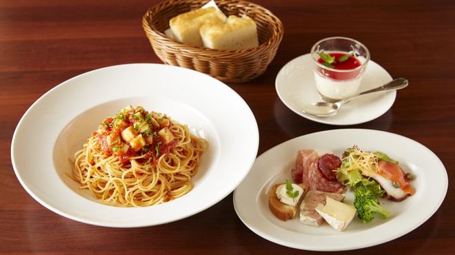 トラットリア  カンディート - 料理写真:ランチパスタコース