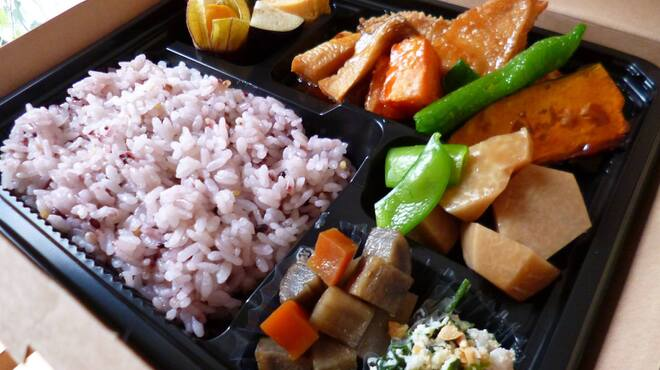 イシノナカ - 料理写真:イシノナカの健康お弁当BOX ¥850~