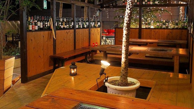 HONANA - 内観写真:オープンテラスでバーベキュー!都会の真中で気軽に手軽にBBQが楽しめます。
