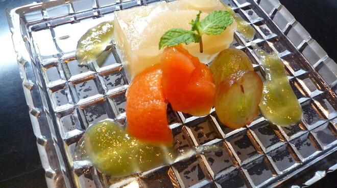 小の半 - 料理写真:葉月 デザート