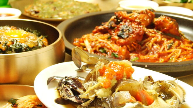 プロカンジャンケジャン - 料理写真:3つのコース料理がございます