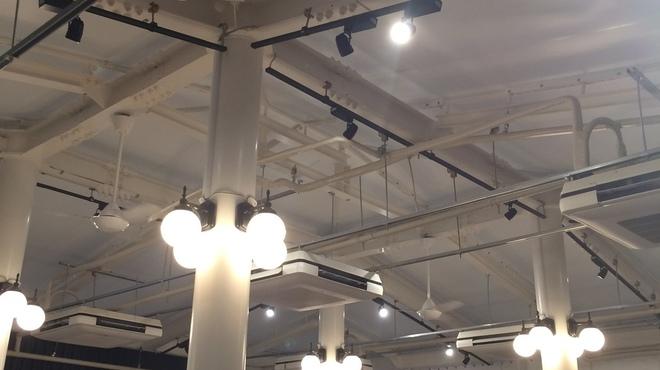 俺のフレンチ・イタリアン 松竹芸能 角座広場 - 内観写真:屋根もエアコン完備
