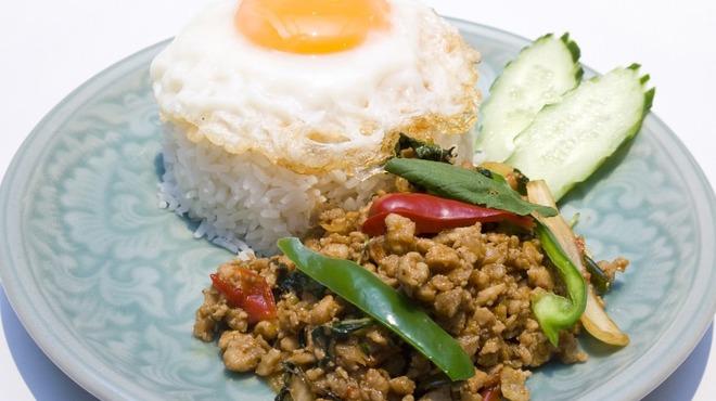 サイアムセラドン - 料理写真:ガパオ