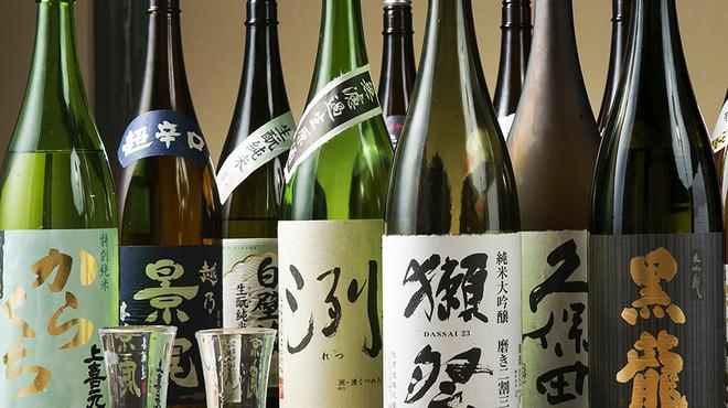 えびず - ドリンク写真:自慢の日本酒