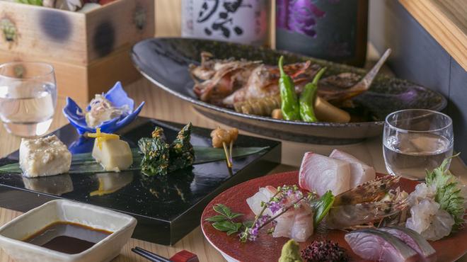 四季彩家 ろく - 料理写真:コース写真(例)