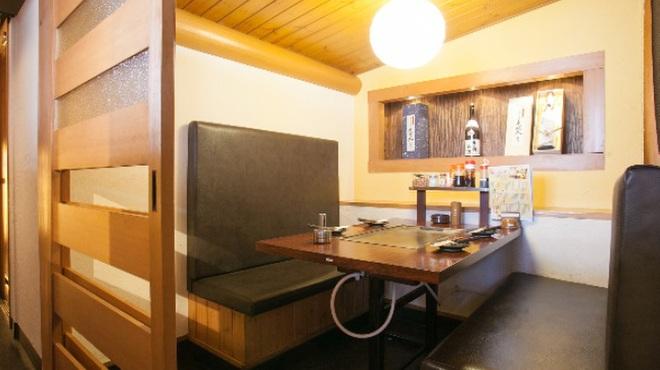 ええとこどり - 内観写真:ゆったり空間の個室