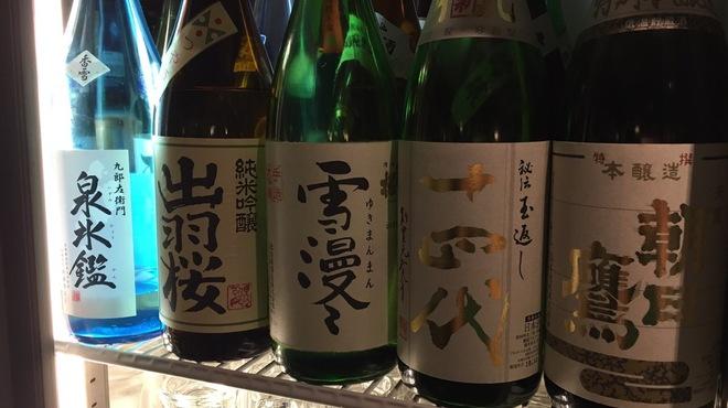 どんどん亭 - ドリンク写真:こだわりの地酒