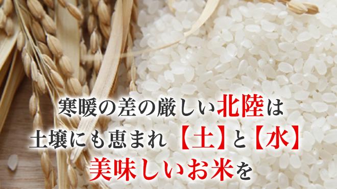 富山ブラック 麺家いろは - 料理写真:富山米