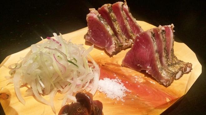 どんどん亭 - 料理写真:かつお藁焼き