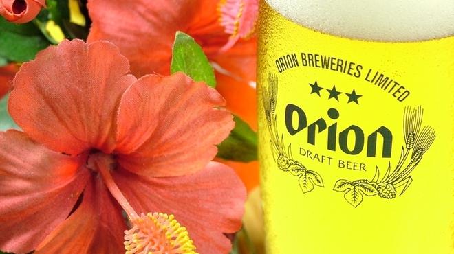 てっぺん - ドリンク写真:沖縄のビールといえばオリオンビール