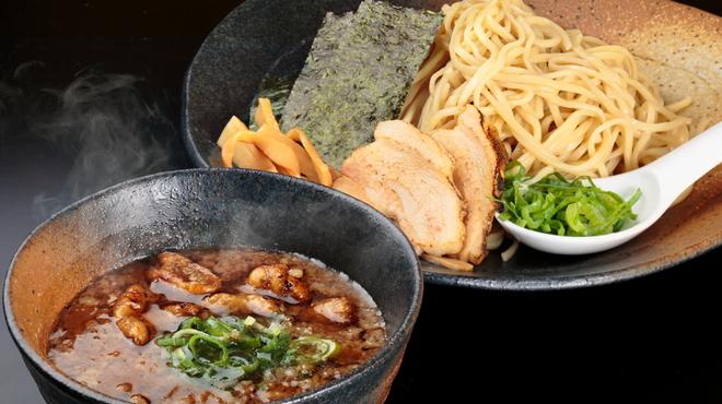 ラーメン龍の家 - 料理写真:つけ麺 もつ(並盛り200g・中盛り250g)780円