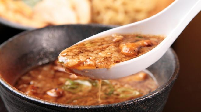 ラーメン龍の家 - 料理写真:つけ麺 もつ