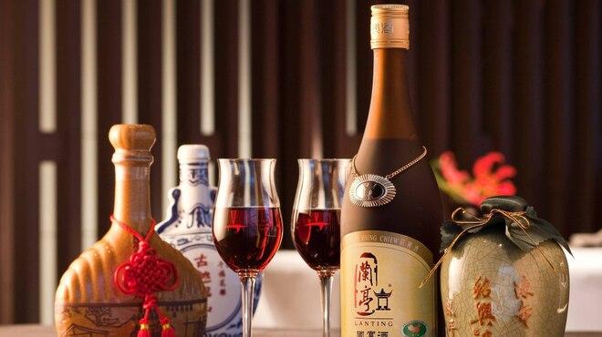 中国料理 星ヶ岡 - ドリンク写真:「星ヶ岡」のお料理に合う紹興酒をご用意