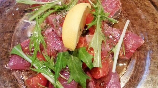 ルーチェ - 料理写真:鮮魚のカルパッチョ 天然はまち