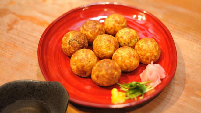 たこ焼道楽 わなか - 料理写真:わんこだこ ~温かいダシで食べる明石焼き風~