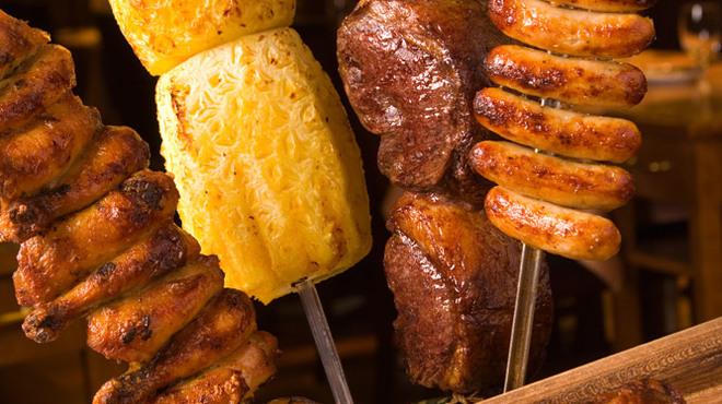 バルバッコア - 料理写真:肉汁したたるジューシーなお肉を豪快に好きなだけ!!