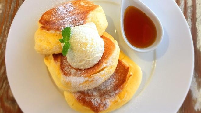 幸せのパンケーキ - 料理写真: