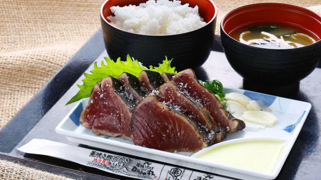 明神丸 - 料理写真:鰹塩セット