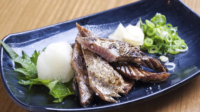 明神丸 - 料理写真:ハランボの藁焼き