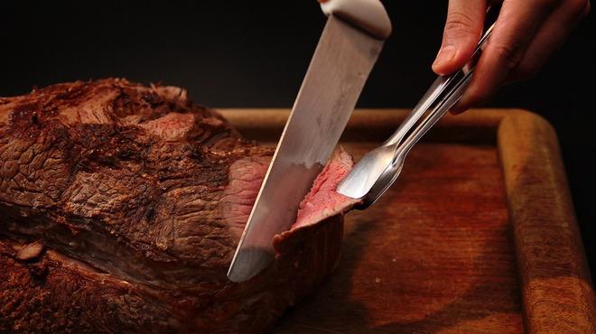 バルバッコア - 料理写真:ランプステーキ!脂肪分が少ない赤身のお肉です☆