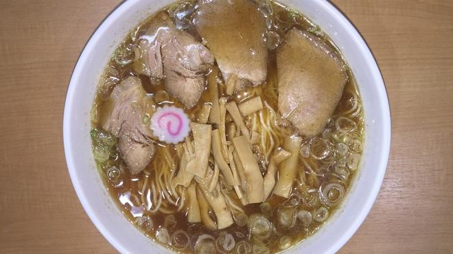 醤 - 料理写真:中華そば