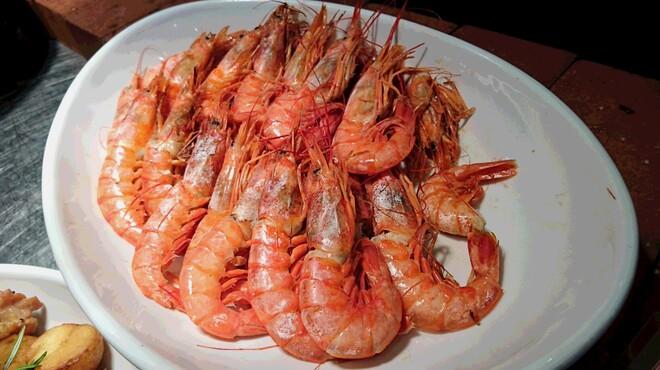 フィッシャーマンズ マーケット - 料理写真:海老のグリル